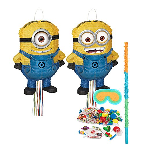 BirthdayExpress Minion Party Supplies - Pinata Kit