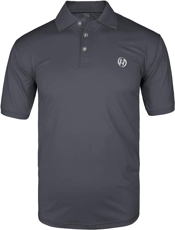 Mens Lightweight Active Sports Short Sleeve Polo Shirt