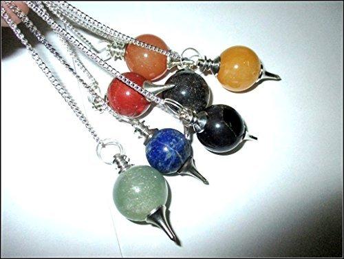 Gemstone Pendulum Genuine Balancing Meditation