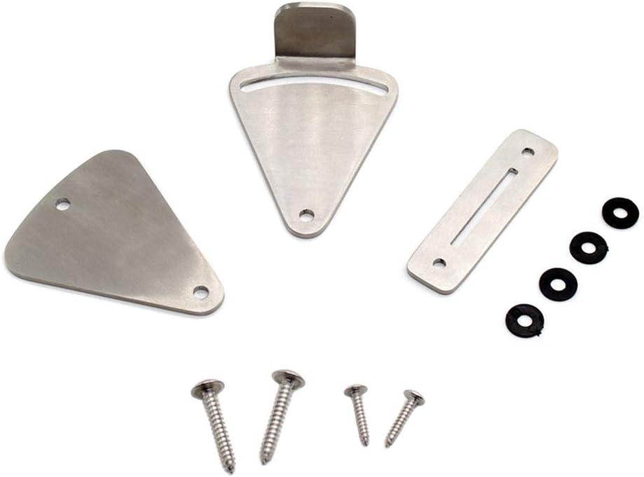 AMEOY One Set Stainless Steel Lock for Sliding Barn Door Wood Latch Gate Doors Easy DIY