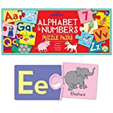 eeBoo Alphabet and Number Puzzle Pairs Matching Game