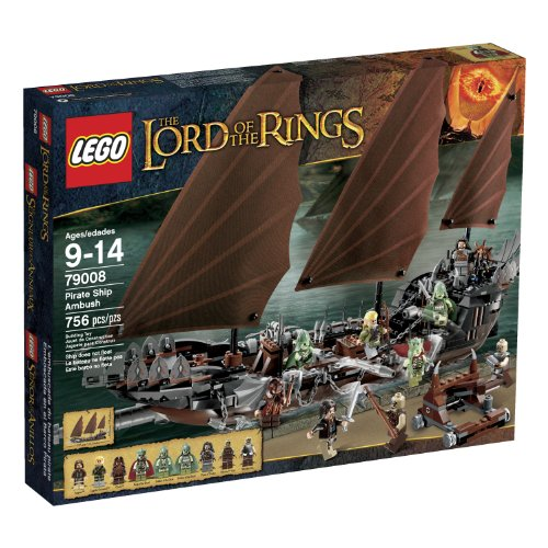- LEGO LOTR 79008 Pirate Ship Ambush (Discontinued by manufacturer)