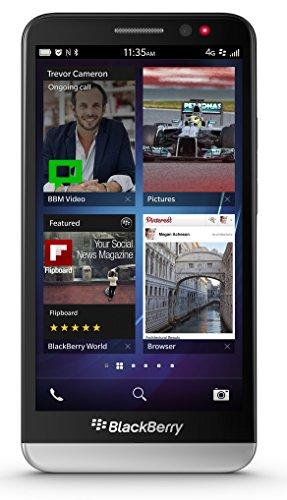 BlackBerry Z30 STA100-5 16GB Unlocked GSM 4G LTE OS 10.2 Cell Phone - Black (Certified Refurbished)