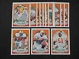 Tampa Bay Buccaneers 1990 Fleer Football Team Set **Premier Issue** (Vinny Testaverde) (Broderick Thomas) (Mark Carrier)