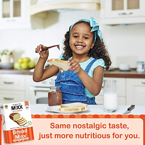 Bread Mixx, Low Carb Keto Bread Mix with Almond Flour, Keto Friendly Mix for Low-Carb Bread, 255 g - It's All In The Mixx 9