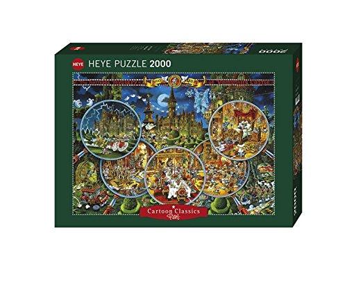 3 opinioni per Heye 29407- Scena del Crimine Puzzle 2000 Pezzi, Multicolore