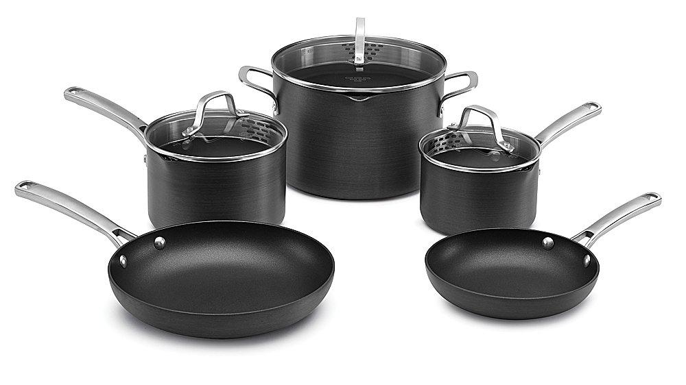 Calphalon 1943340 Classic Cookware Set 8 Pc Grey