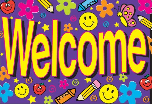 Eureka Teacher Cards, Welcome, 36 Mailable Postcards (831850) - DISCONTINUED by Manufacturer