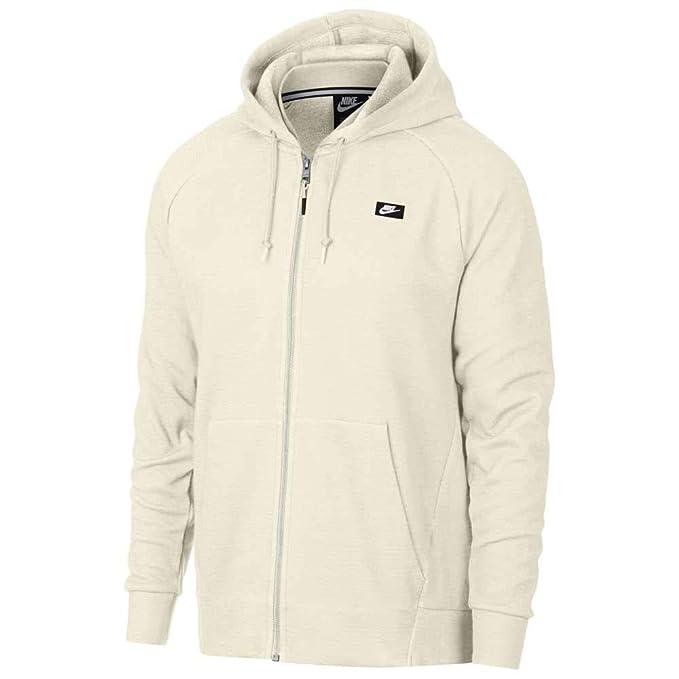 cb8c3515084d Nike Men s M Nsw Optic Hoodie Fz Sweatshirt  Amazon.co.uk  Clothing
