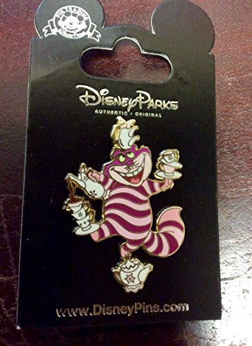 Disney Cheshire Cat Mad Tea Party Pin from Alice in Wonderland