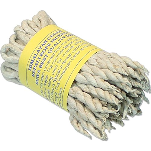 Himalayan cedar incense rope
