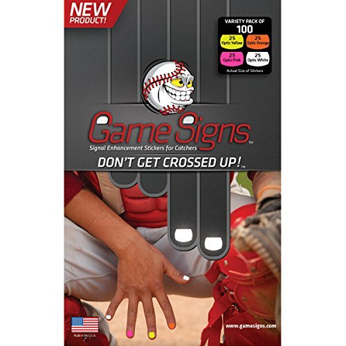 Game Signs Catcher Signal Enhancement Stickers, Variety Pack Catcher Game
