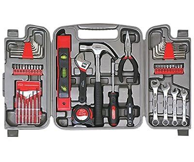 Apollo Tools DT9408 53 Piece Household Tool Set