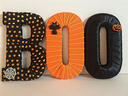 Halloween BOO Letter Set-FREE SHIPPING!]()