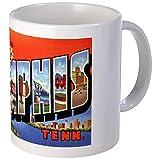 CafePress - Memphis Tennessee Greetings Mug - Unique Coffee Mug, Coffee Cup