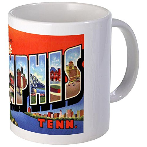 CafePress - Memphis Tennessee Greetings Mug - Unique Coffee Mug, Coffee Cup by CafePress