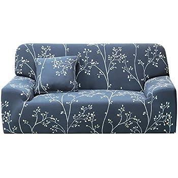 Marvelous Amazon Com Lamberia Printed Sofa Cover Stretch Couch Cover Spiritservingveterans Wood Chair Design Ideas Spiritservingveteransorg