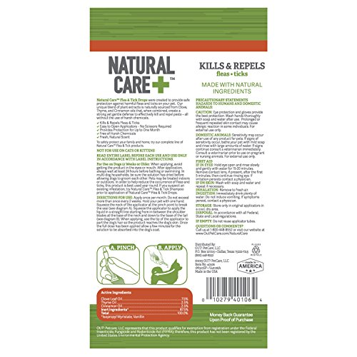 Out Natural Care Flea And Tick Drops