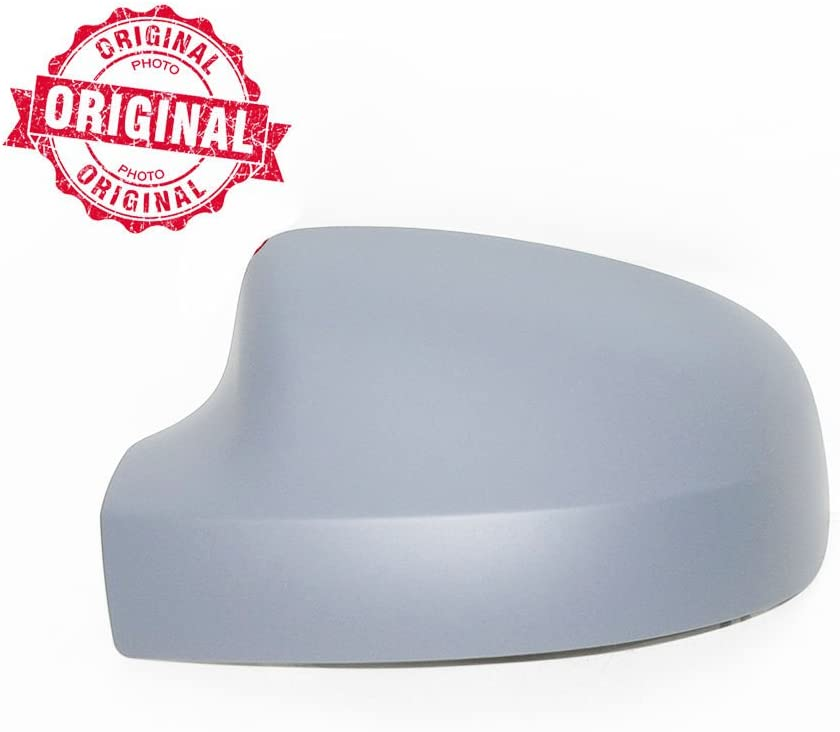 Left Side Wing Mirror Cover Cap Casing Primed Compatible With Logan Sandero Duster 2008 Onwards