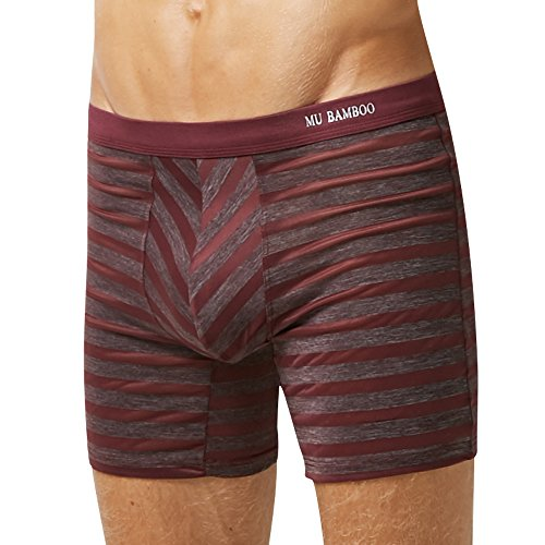 MU Bamboo  Men's  breathable Boxer Briefs