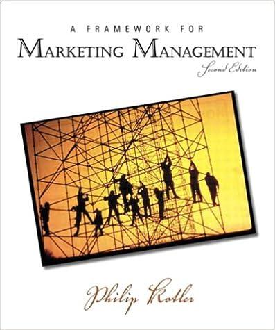 Framework for marketing management a 2nd edition philip kotler framework for marketing management a 2nd edition philip kotler 9780131001176 amazon books fandeluxe Choice Image