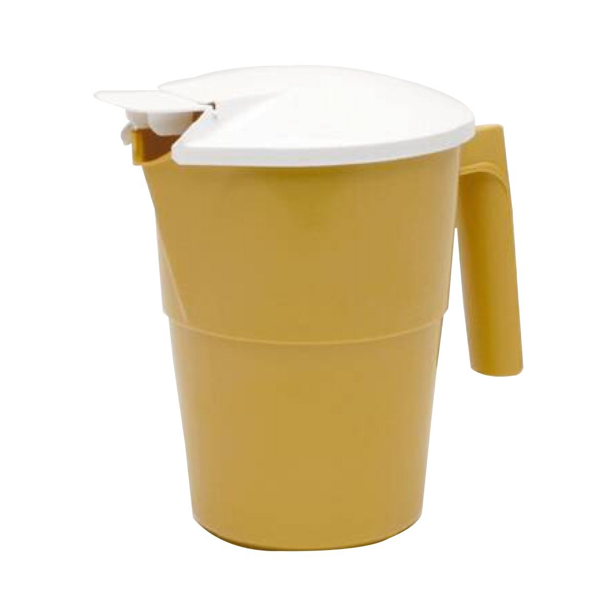Medegen Medical Products H200-05 Medegen Medical Products H200-05 Pitcher with White Cover, 20/Pallet, Gold (Pack of 100)