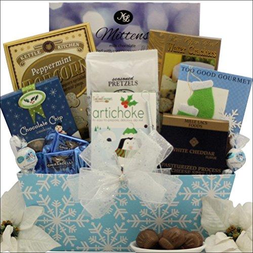 GreatArrivals Winter Wonderland Gourmet Holiday Christmas Gift Basket, 5 Pound
