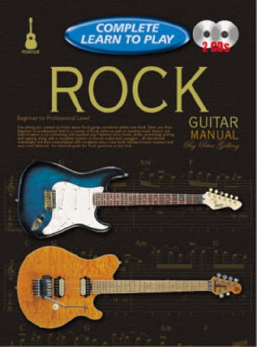 CP69234 - Progressive Complete Learn to Play Rock Guitar Manual