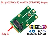 HLT M.2 (NGFF) to mPCIe (PCIe+USB) Adapter
