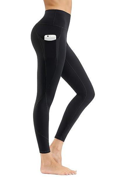 Amazon.com: HKJIEVSHOP pantalones de yoga de cintura alta ...
