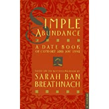 Cal 98 Simple Abundance: A Datebook of Comfort and Joy