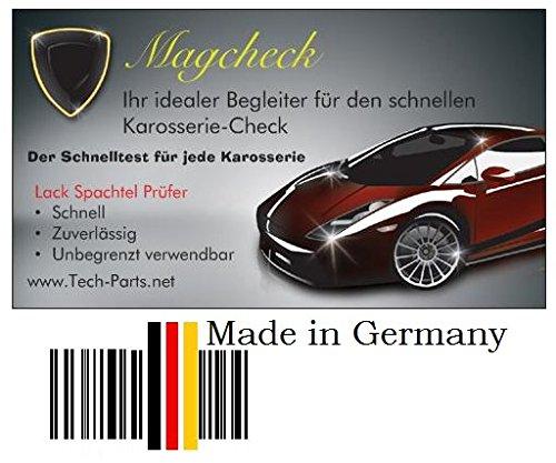 Grip Magcheck Magnetkarte Karosserie Lack Spachtel Prü fer Schichten Tester Tech-Parts 1460