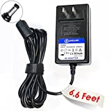 T-Power 9v~12v (6.6ft Long Cable) Ac Dc adapter for X Rocker Pro Series H3 51259 Video Gaming Chair 51231 / 51396 Replacement Switching Power Supply Cord Charger