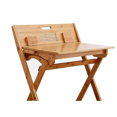 Amazon.com: Silla de escritorio plegable para el hogar, mesa ...