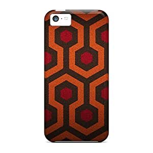 First-class Cases Covers For Iphone 5c Dual Protection Covers Orange And Red Pattern