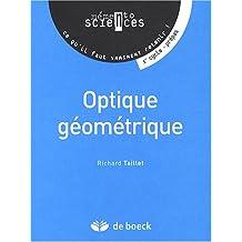 Optique geometrique memento scien.physiq