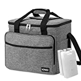 Best Large Cooler Bags - KOMEX 40-Can Large Soft Cooler Bag Collapsible Review