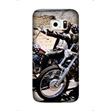 Samsung Galaxy S6 Edge Case, The Series of Easy Rider Movie Lightweight Cases for Samsung Galaxy S6 Edge