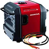 Honda EU3000 Inverter Generator with Parallel Cables Kit (Single Generator)