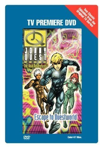 TV Premiere DVD: The Real Adventures of Jonny Quest - Escape to Questworld (TV Premiere DVD) by Warner Home Video by Warner Manufacturing