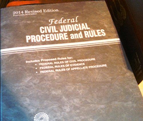 Federal Civil Judicial Procedure And Rules