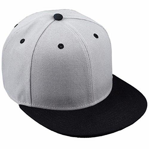 - squaregarden Snapback Hats,Flat Bill Adjustable Trucker Hat Baseball Cap
