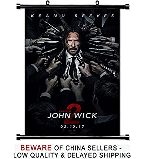 Amazon com: John Wick Chapter 3 Parabellum Keanu Reeves Art