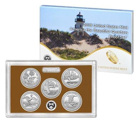2018 S America the beautiful quarters Quarter US Mint proof