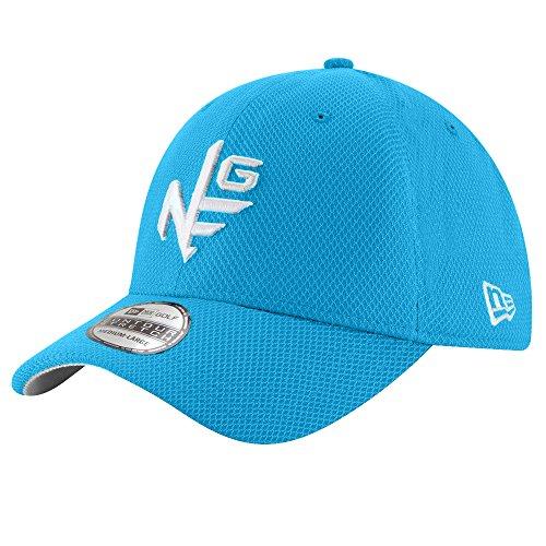 New Era Contour Stretch Neg Tee Golf Cap Blue Fanatic -