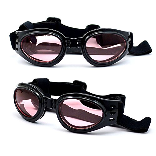Dog Sunglasses Eye Wear UV Protection Goggles Pet Fashion Black - Trade Sunglasses