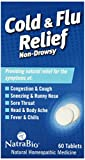 Cheap Natrabio Cold and Flu Relief Tablets, Non-Drowsy, 60 Count
