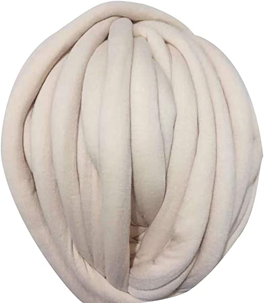 ENticerowts - Ovillo de Lana para Tejer de algodón y poliéster Grueso, 500 g, cómodo para la Piel, fácil de Tejer: Amazon.es: Hogar
