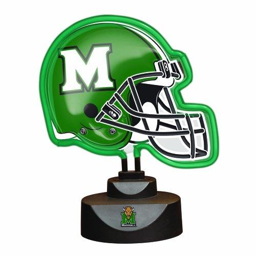 NCAA Marshall Neon Helmet (Marshall Thundering Herd Lamp)