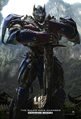 TRANSFORMERS AGE OF EXTINCTION MOVIE POSTER 2 Sided ORIGINAL Version A 27x40 ()